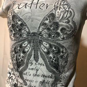 Ladies T shirt butterflies 🦋